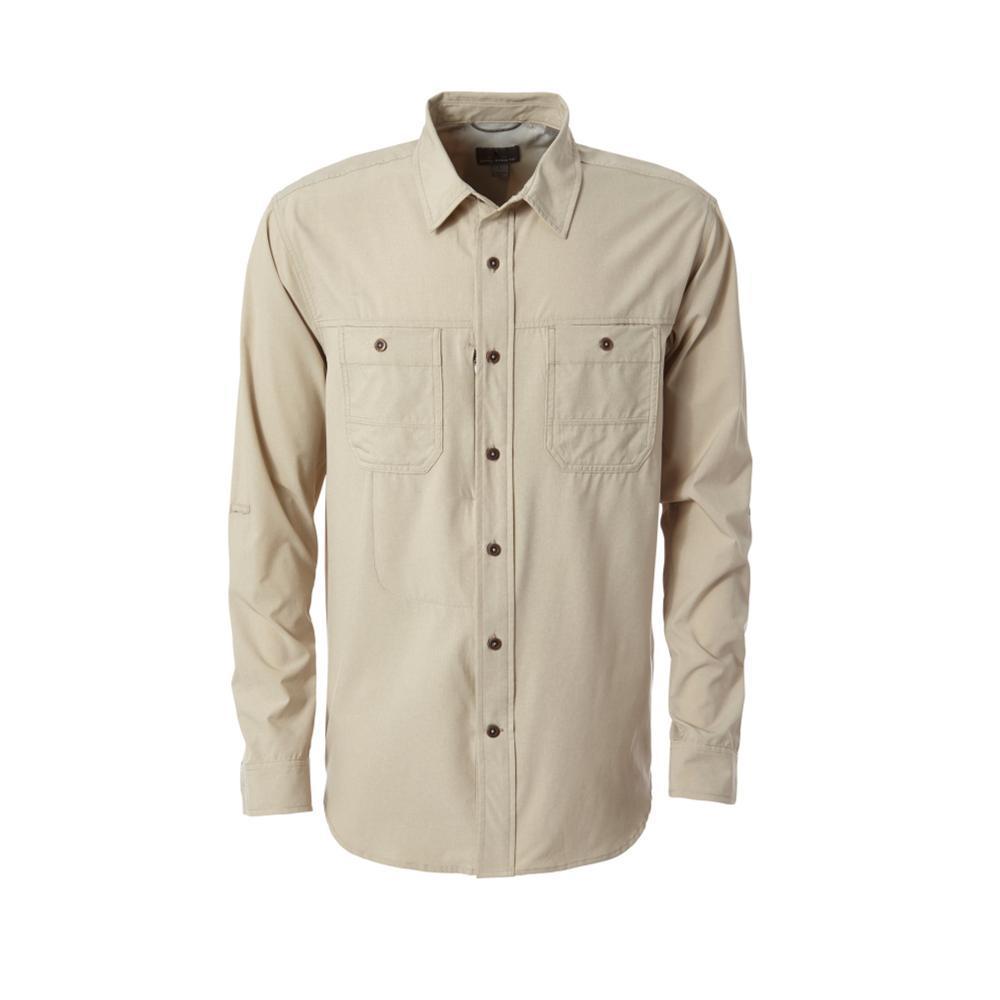 Royal Robbins Men's Long Distance Traveler Long Sleeve Shirt LTKHAKI