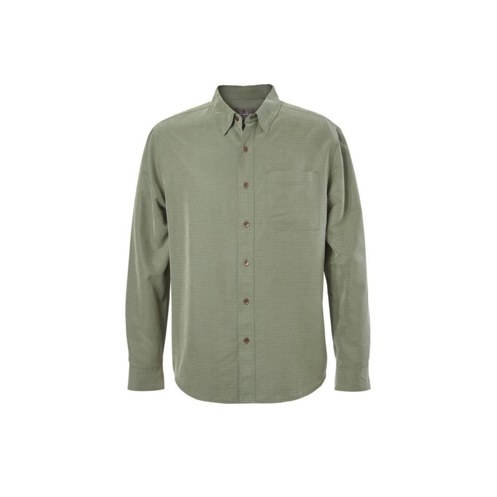 Royal Robbins Men's Desert Pucker Long Sleeve Shirt BAYLEAF