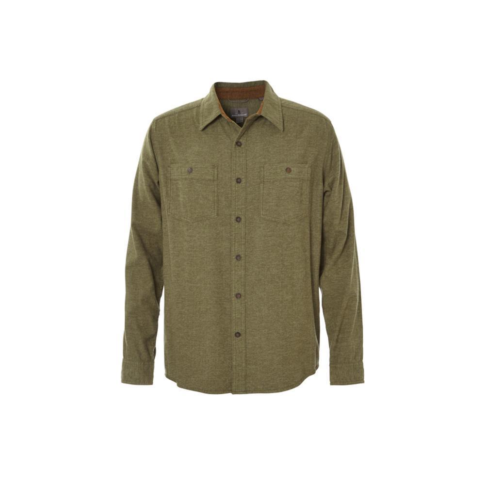 Royal Robbins Men's Bristol Tweed Long Sleeve Shirt CYPRESS