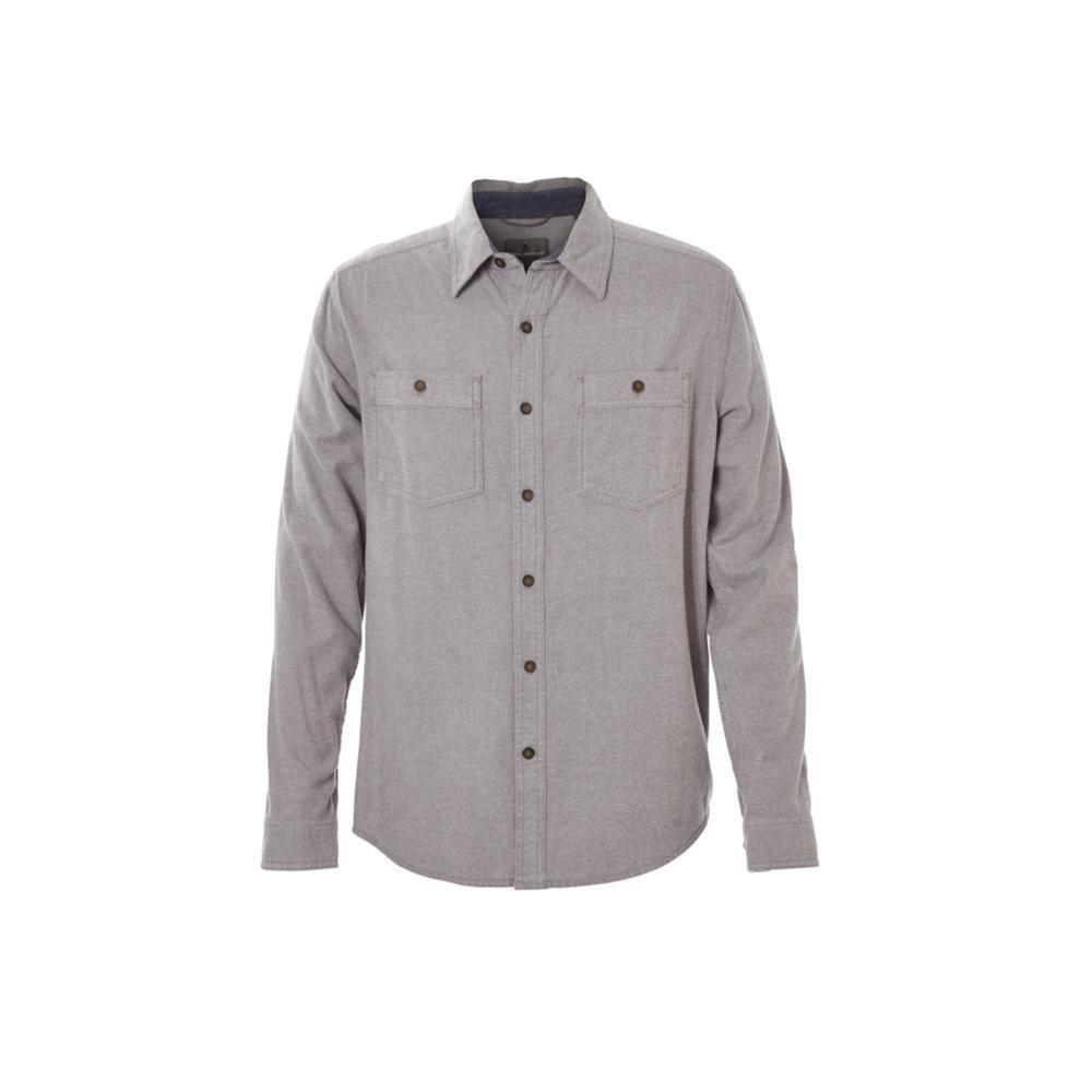 Royal Robbins Men's Bristol Tweed Long Sleeve Shirt PEWTER