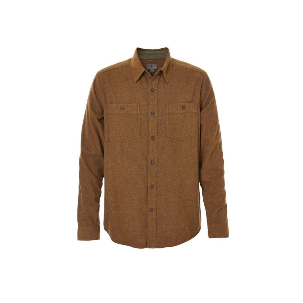 Royal Robbins Men's Bristol Tweed Long Sleeve Shirt TURKCOFFEE
