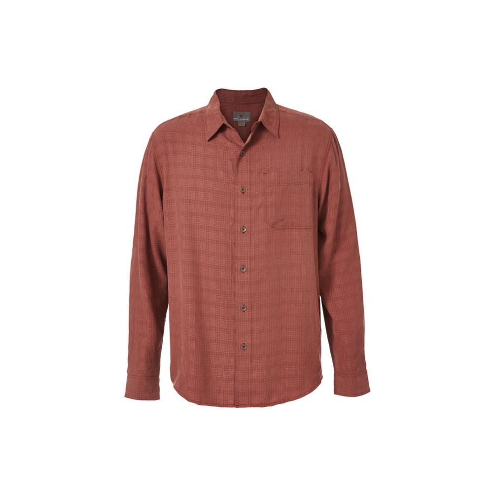 Royal Robbins Men's San Juan Long Sleeve Shirt RAISIN
