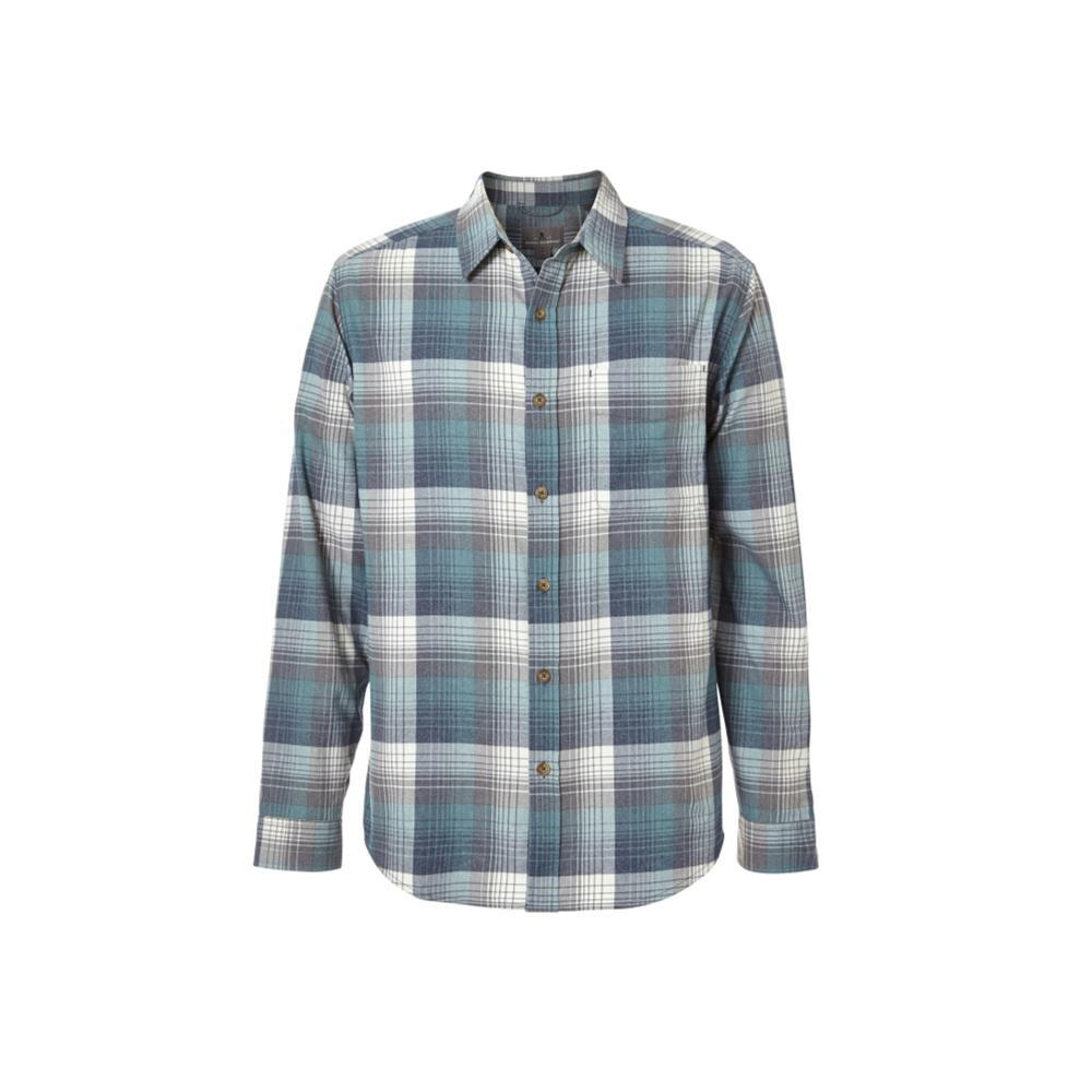 Royal Robbins Men's Vintage Flannel Long Sleeve Shirt SLATE