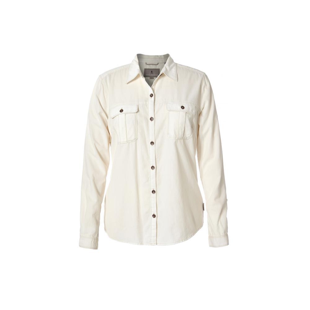 Royal Robbins Women's Cascade Cord Long Sleeve Shirt CREME