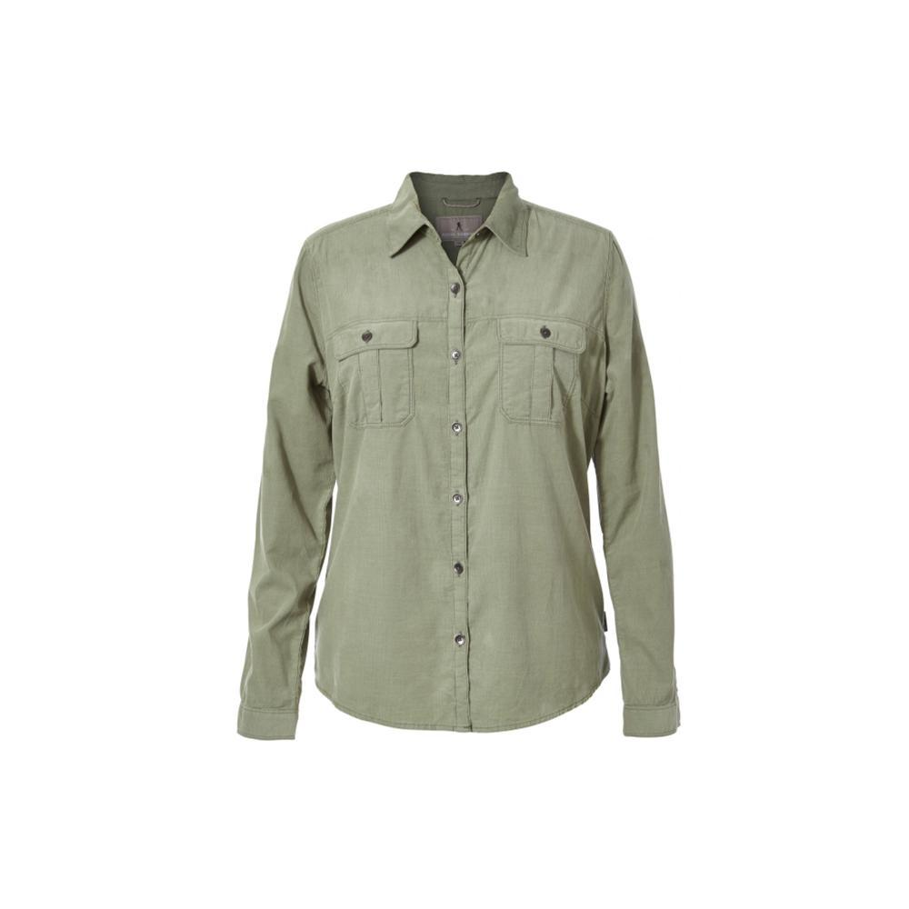 Royal Robbins Women's Cascade Cord Long Sleeve Shirt LILYPAD
