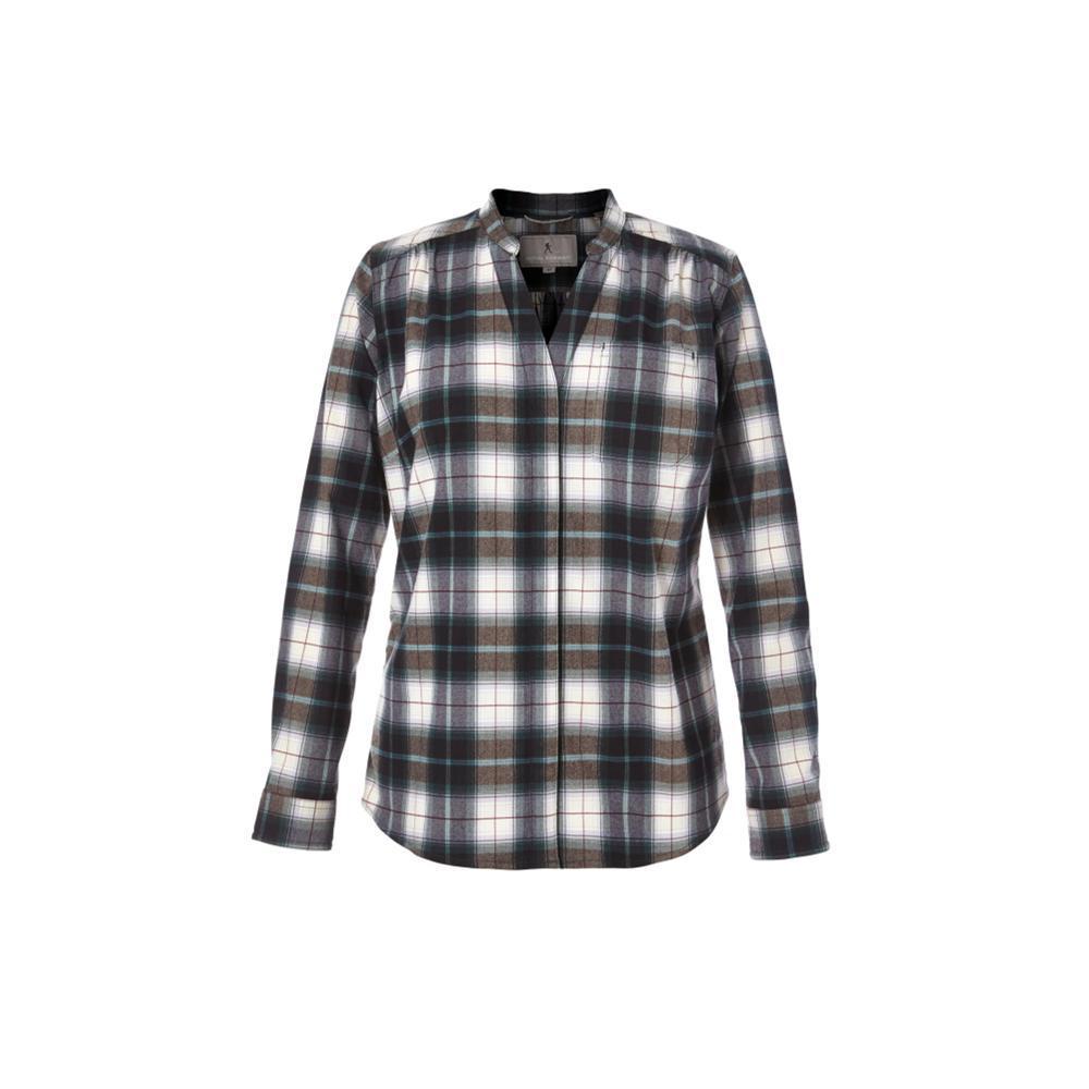 Royal Robbins Merinolux Plaid Flannel Shirt GREENGAB