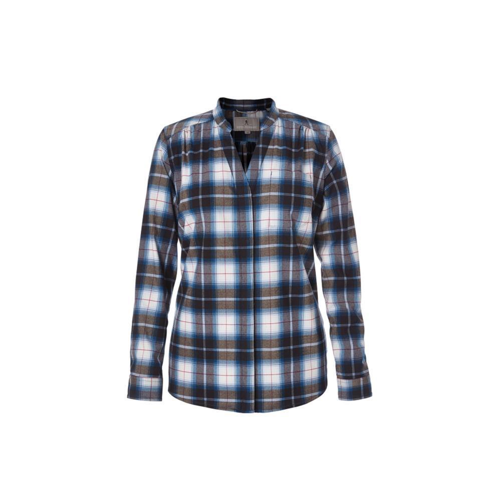 Royal Robbins Merinolux Plaid Flannel Shirt POSEIDON