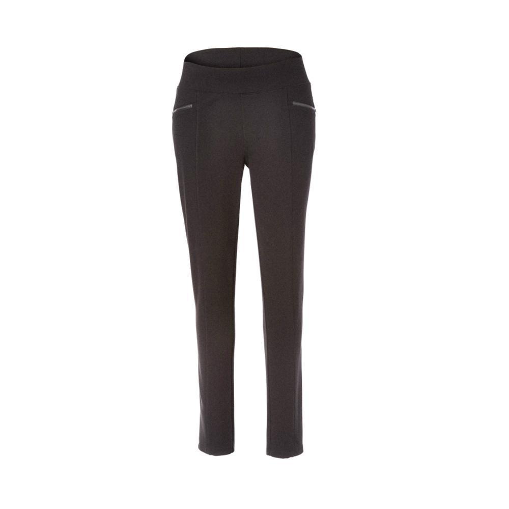 Royal Robbins Women's Lucerne Ponte Slim Leg Pants CHARCOAL