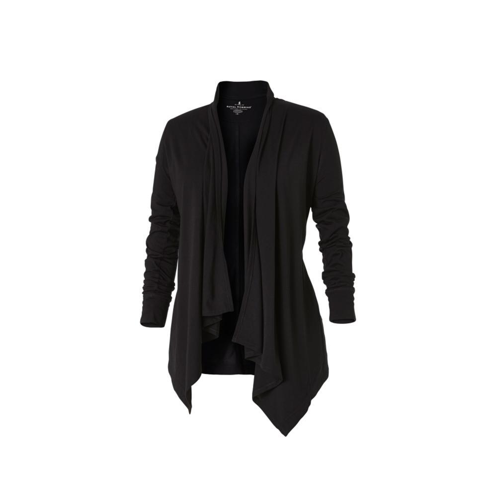 Royal Robbins Women's Merinolux Wrap BLACK