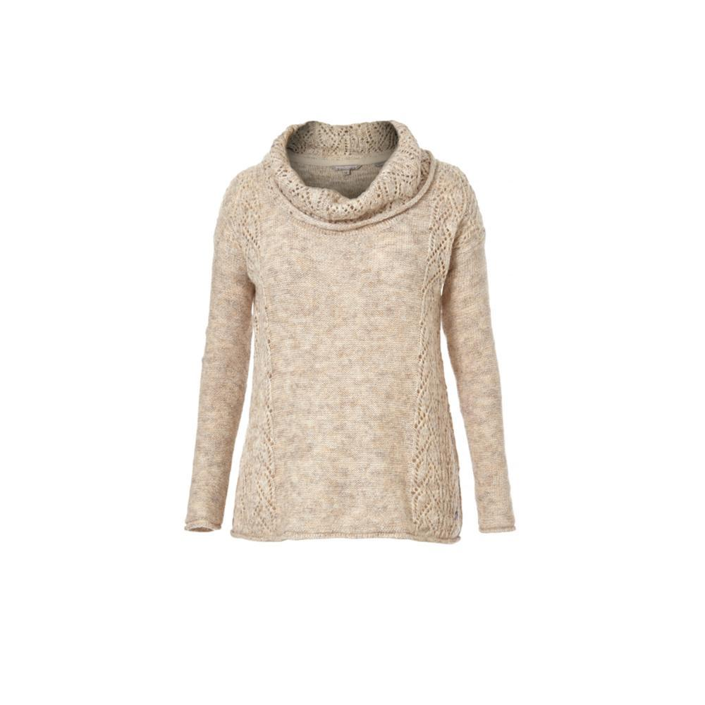 Royal Robbins Women's Sophia Cowl Solid Sweater OATMEAL