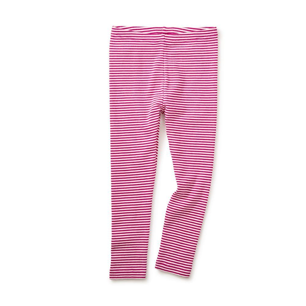 Tea Collection Kids Striped Leggings SHOCKING