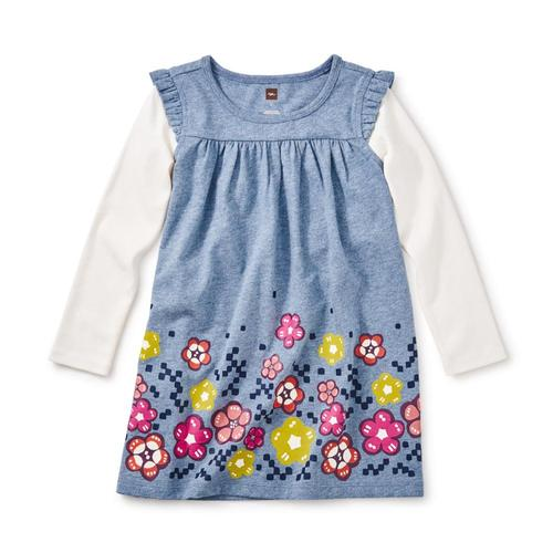 Tea Collection Kids Mackintosh Mighty Mini Dress