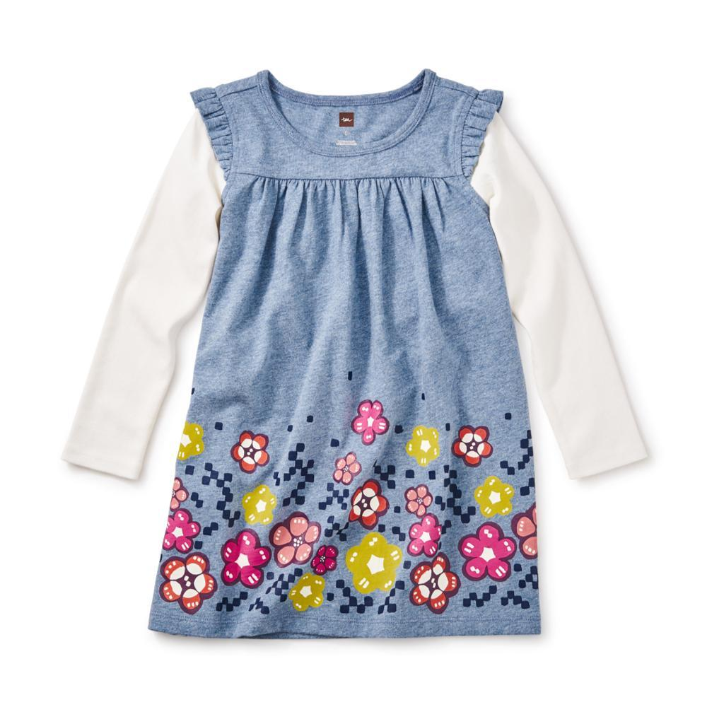 Tea Collection Kids Mackintosh Mighty Mini Dress MARINE