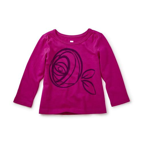 Tea Collection Kids MacKintosh Rose Graphic Tee