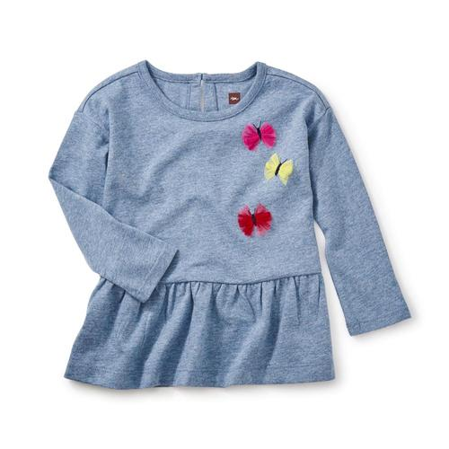 Tea Collection Kids Dealan-De Applique Tunic