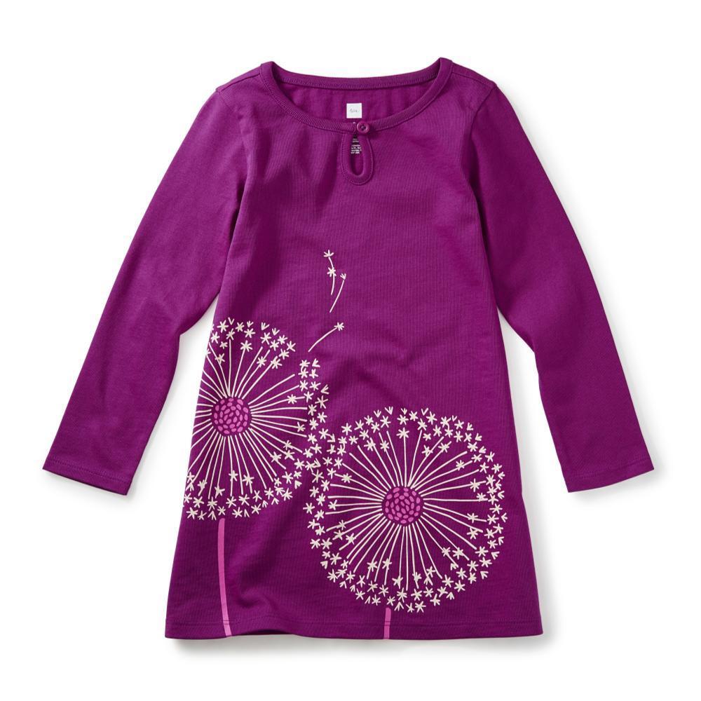 Tea Collection Kids Wish Graphic Dress DRAGONFRUIT