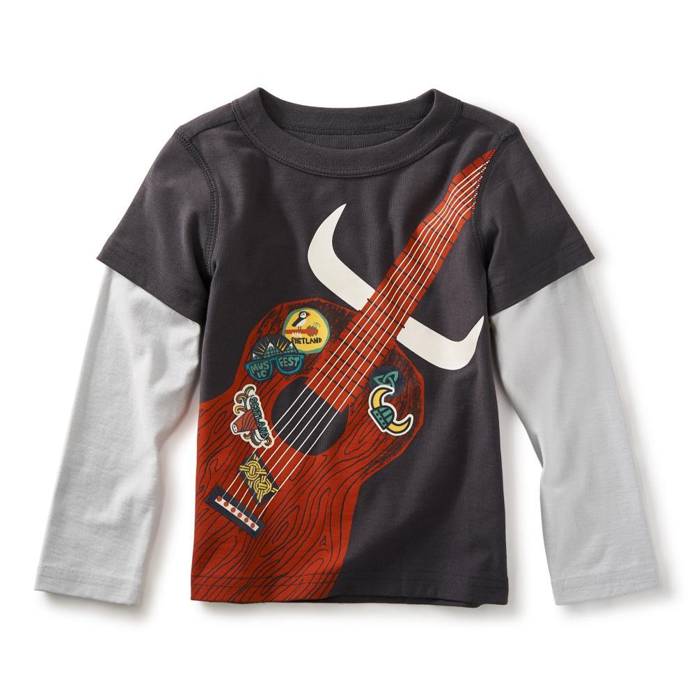 Tea Collection Kids Highland Guitar Graphic Tee