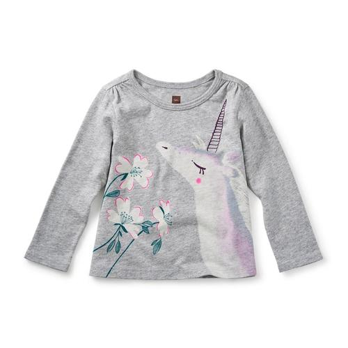 Tea Collection Infant Unicorn Garden Graphic Tee
