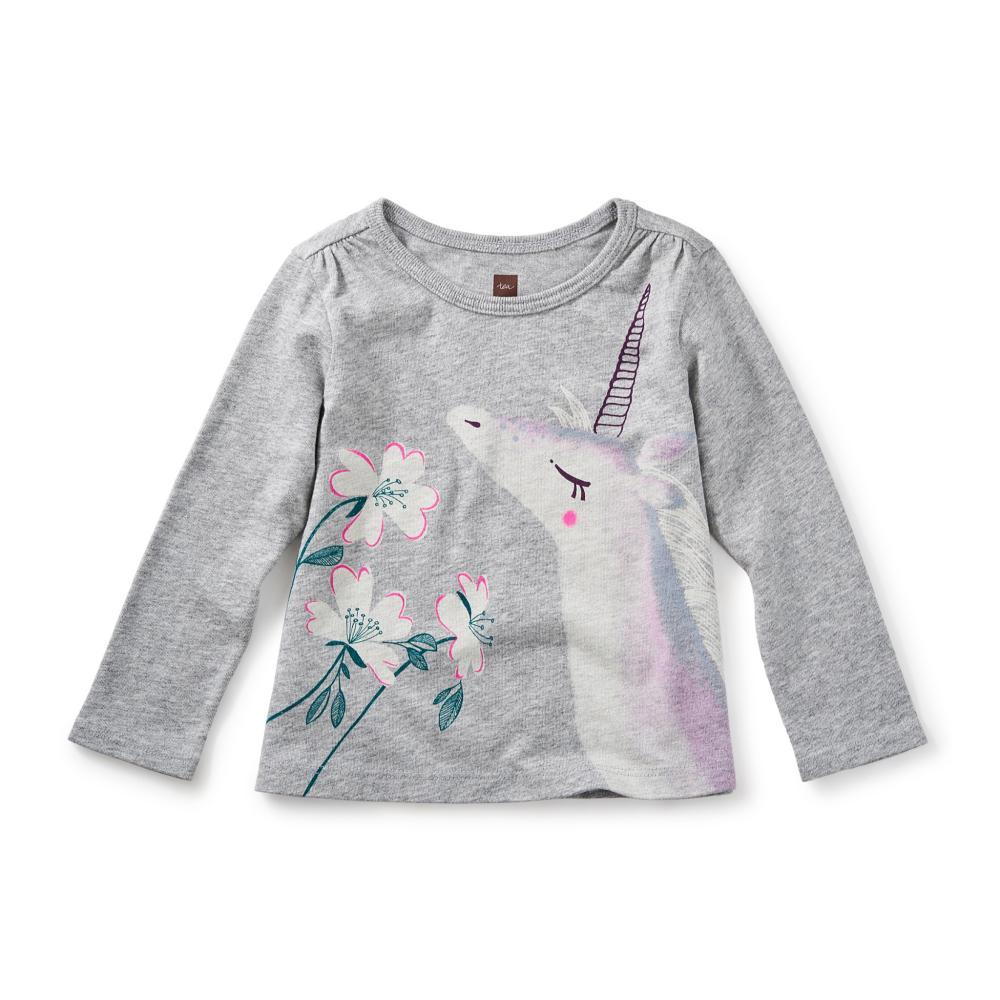 Tea Collection Infant Unicorn Garden Graphic Tee MED