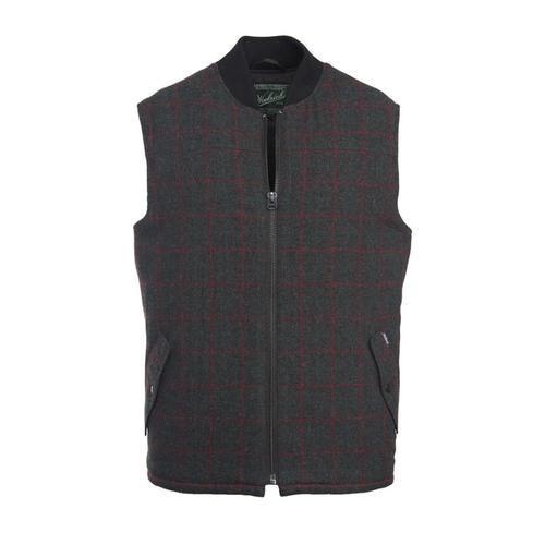 Woolrich Men's Bear Claw Vest Charplaid