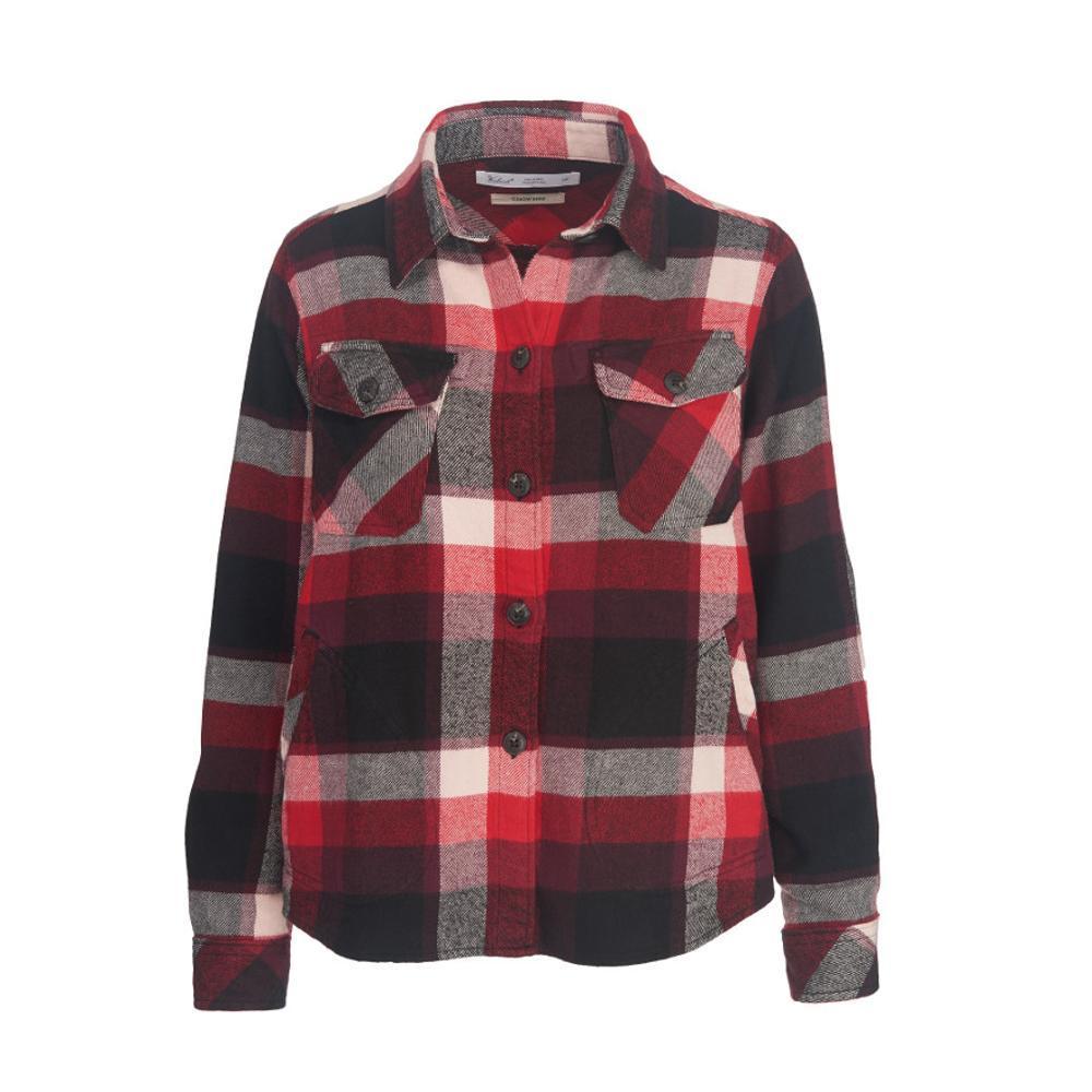 Woolrich Women's Oxbow Bend Flannel Shirt Jac BLKMULTI