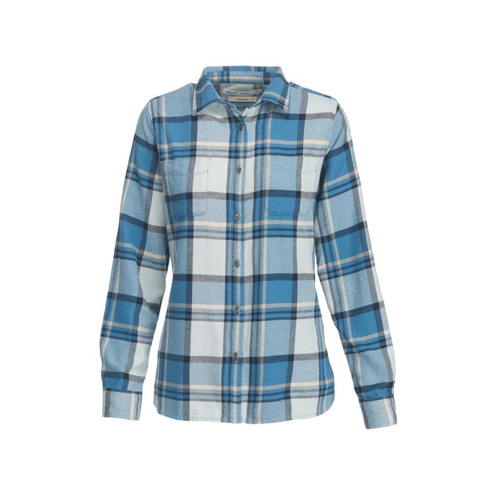 Woolrich Women's Pemberton Flannel Shirt FRENCHBLUE