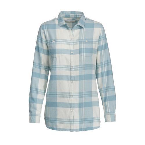Woolrich Women's Pemberton Boyfriend Tunic Flannel Shirt