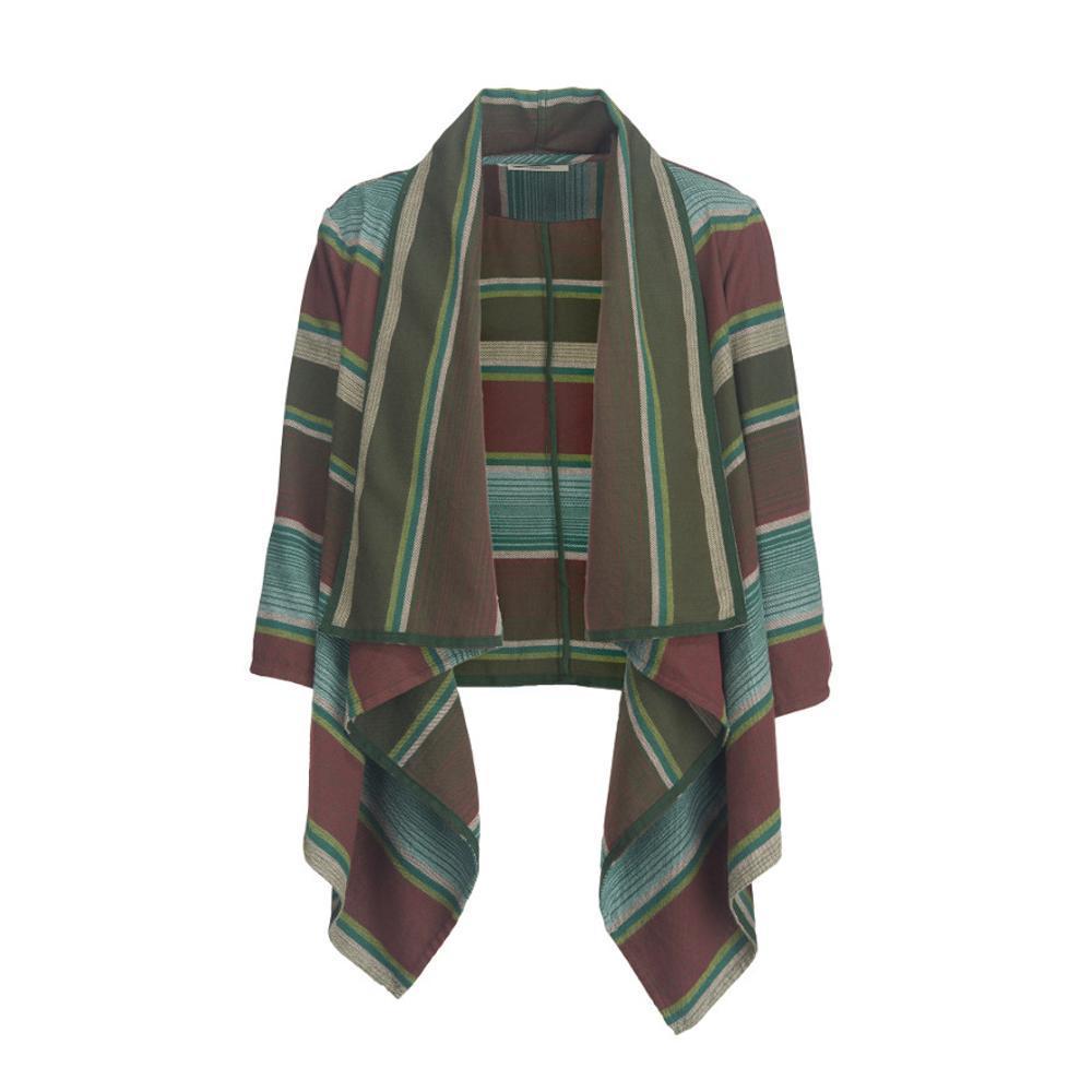 Woolrich Women's Pemberton Flannel Wrap Cardigan MALLGREEN