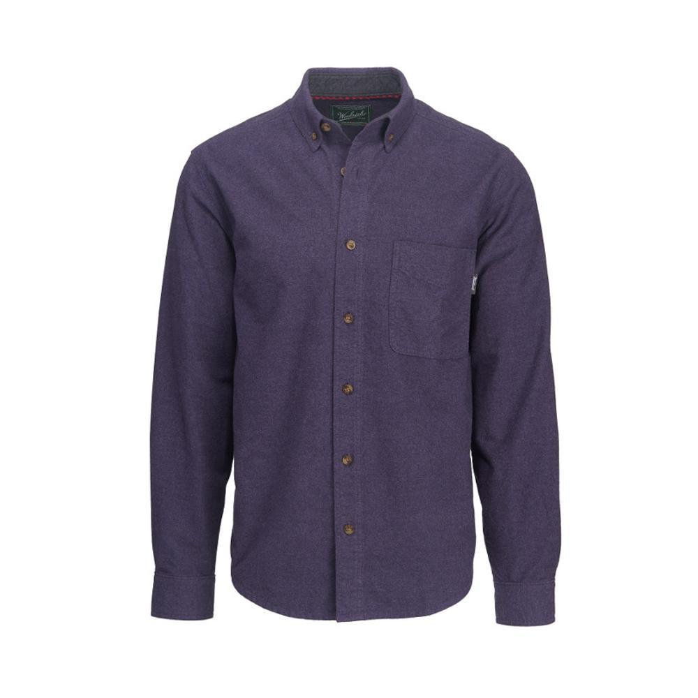 Woolrich Men's Sportsman Chamois Shirt OUTERSPACE
