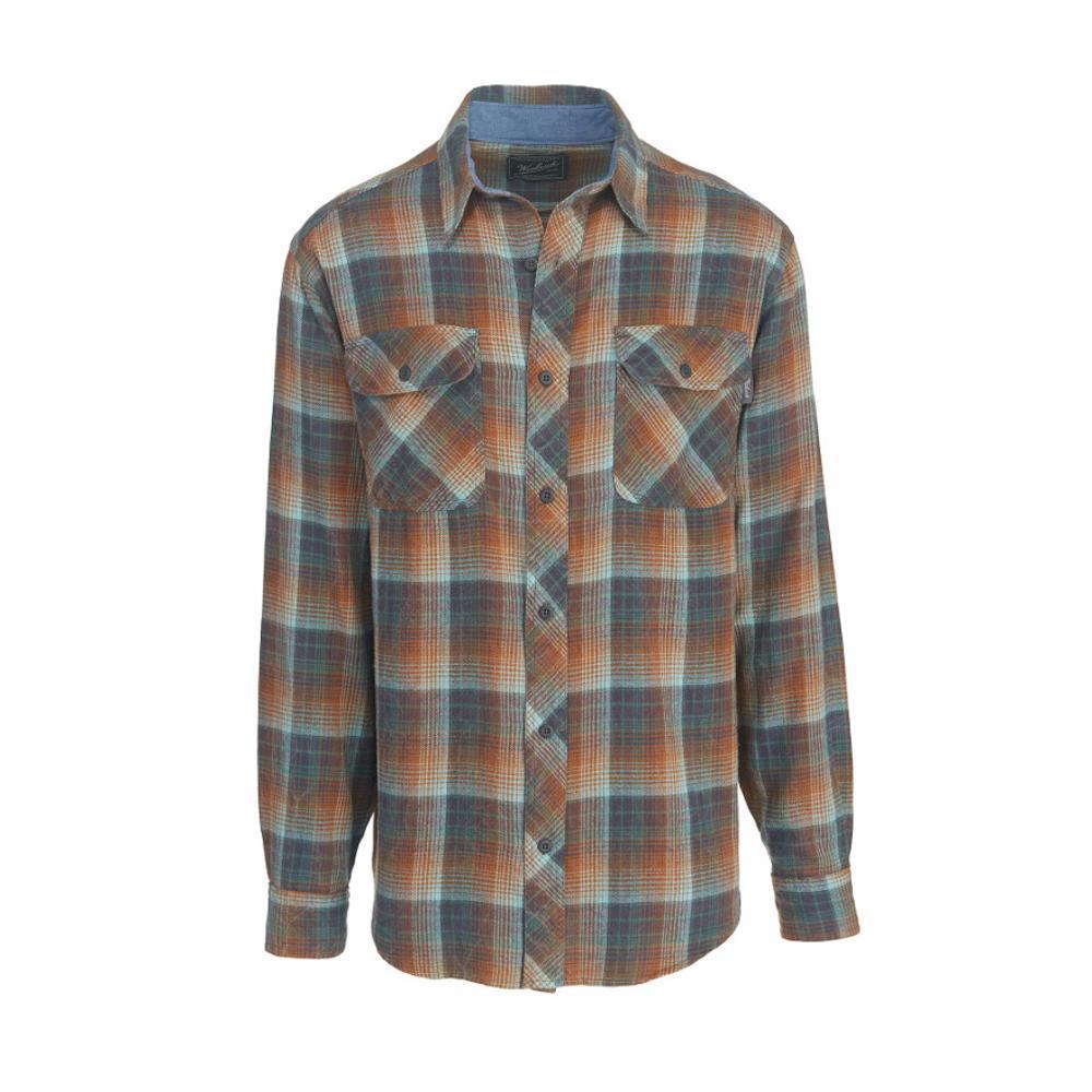 Woolrich Men'sMiners Wash Flannel Shirt MALLGREEN