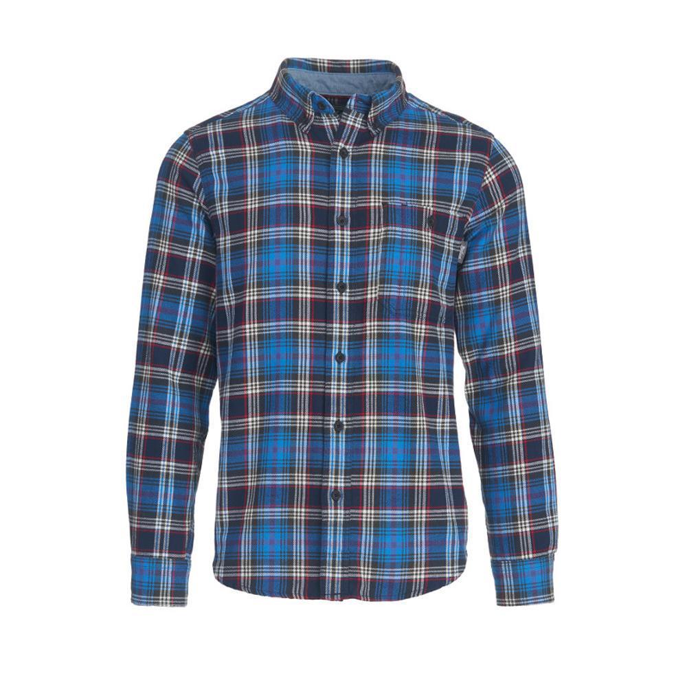 Woolrich Men's Trout Run Plaid Flannel Shirt ASPHALT