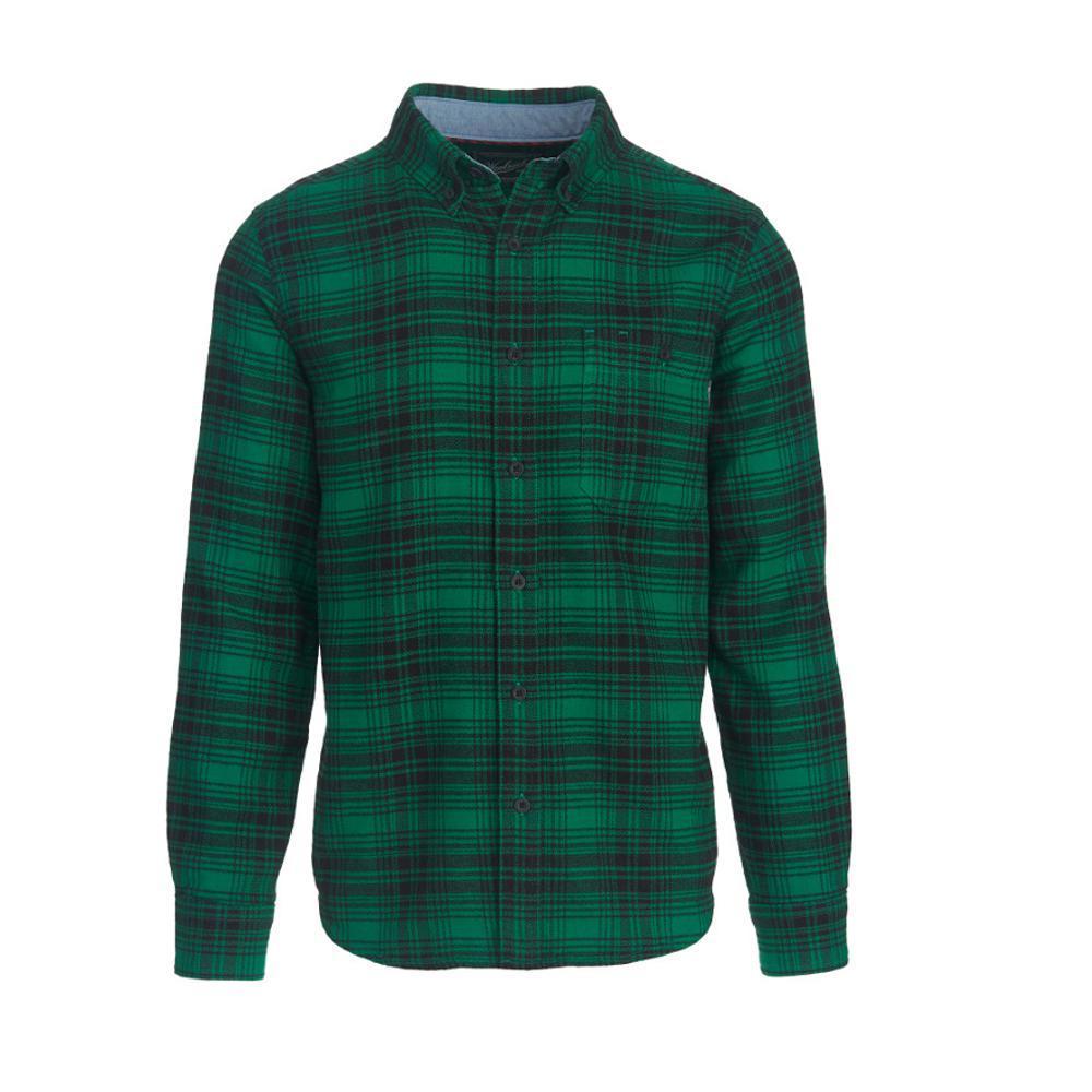 Woolrich Men's Trout Run Plaid Flannel Shirt FORESTGREN