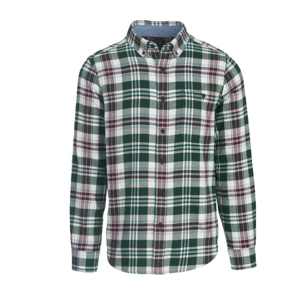 Woolrich Men's Trout Run Plaid Flannel Shirt PINEGROVE
