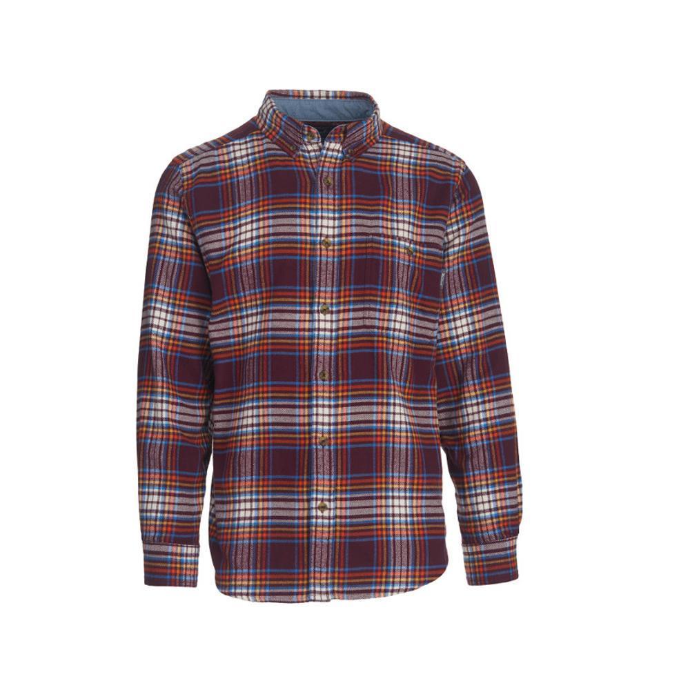 Woolrich Men's Trout Run Plaid Flannel Shirt PORTMULTI