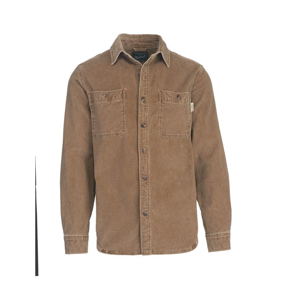 Woolrich Men's Hemlock Cordury II Shirt EARTHBROWN