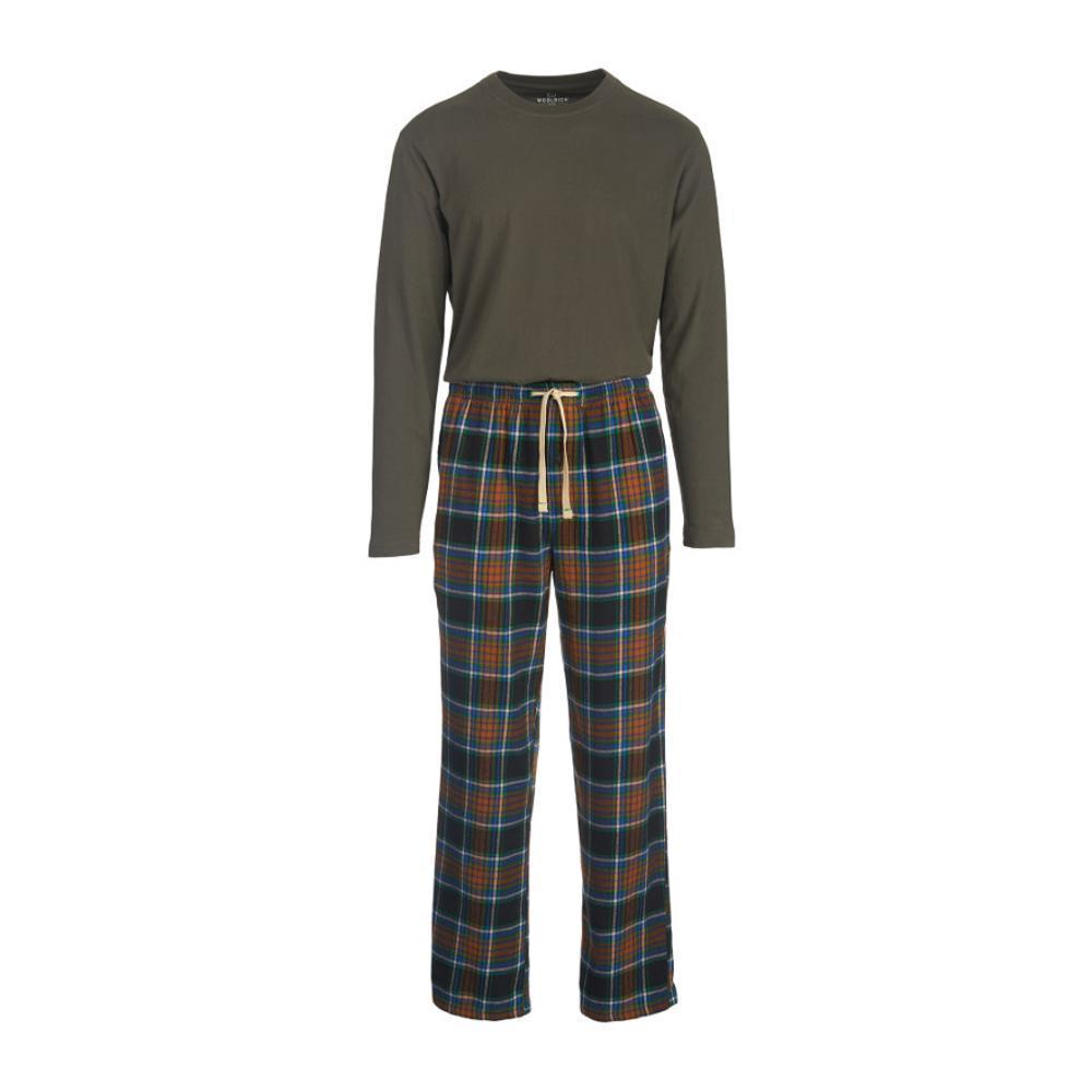 Woolrich Men's Fireside Flannel Pajama Set BLACKPD