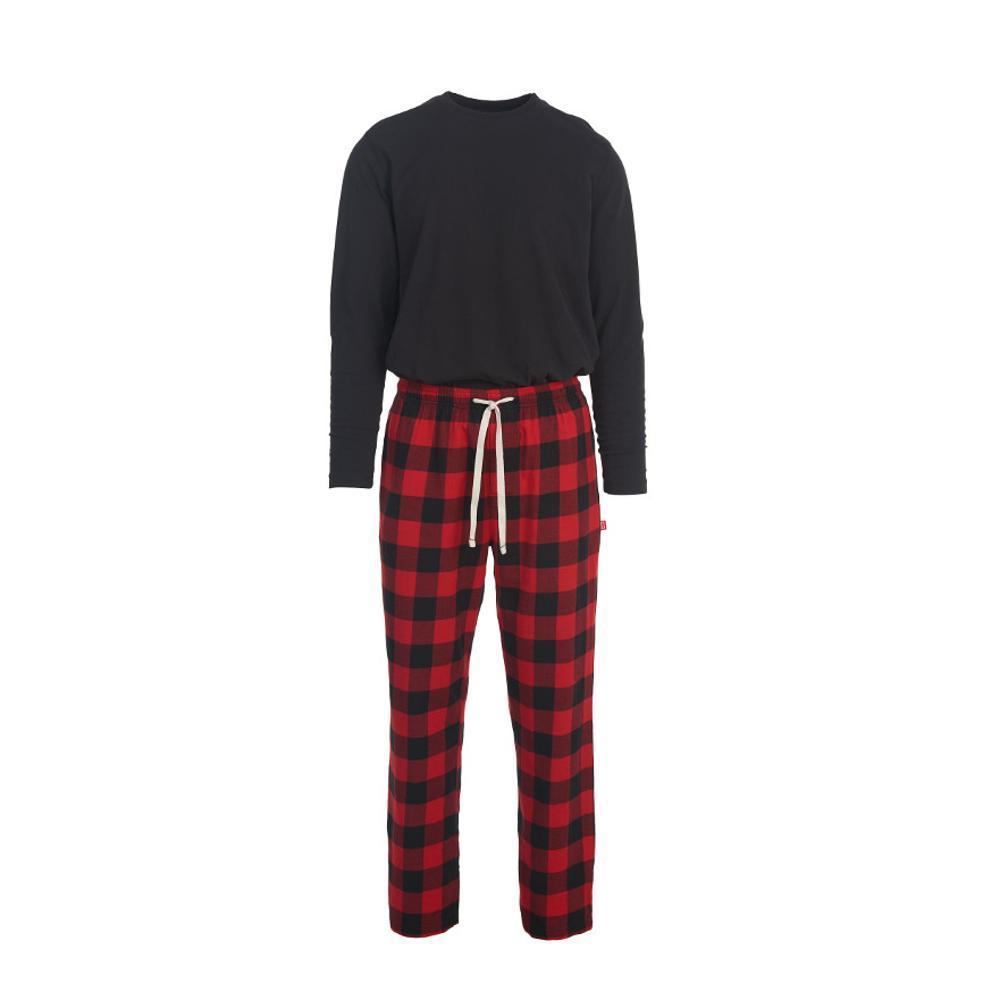 Woolrich Men's Fireside Flannel Pajama Set OLDREDBUFF