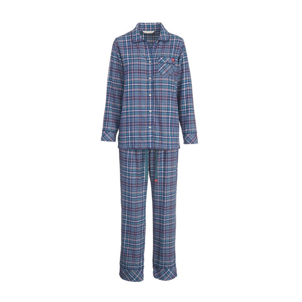 Woolrich Women's First Light Flannel Pajama Set NEPTUNE