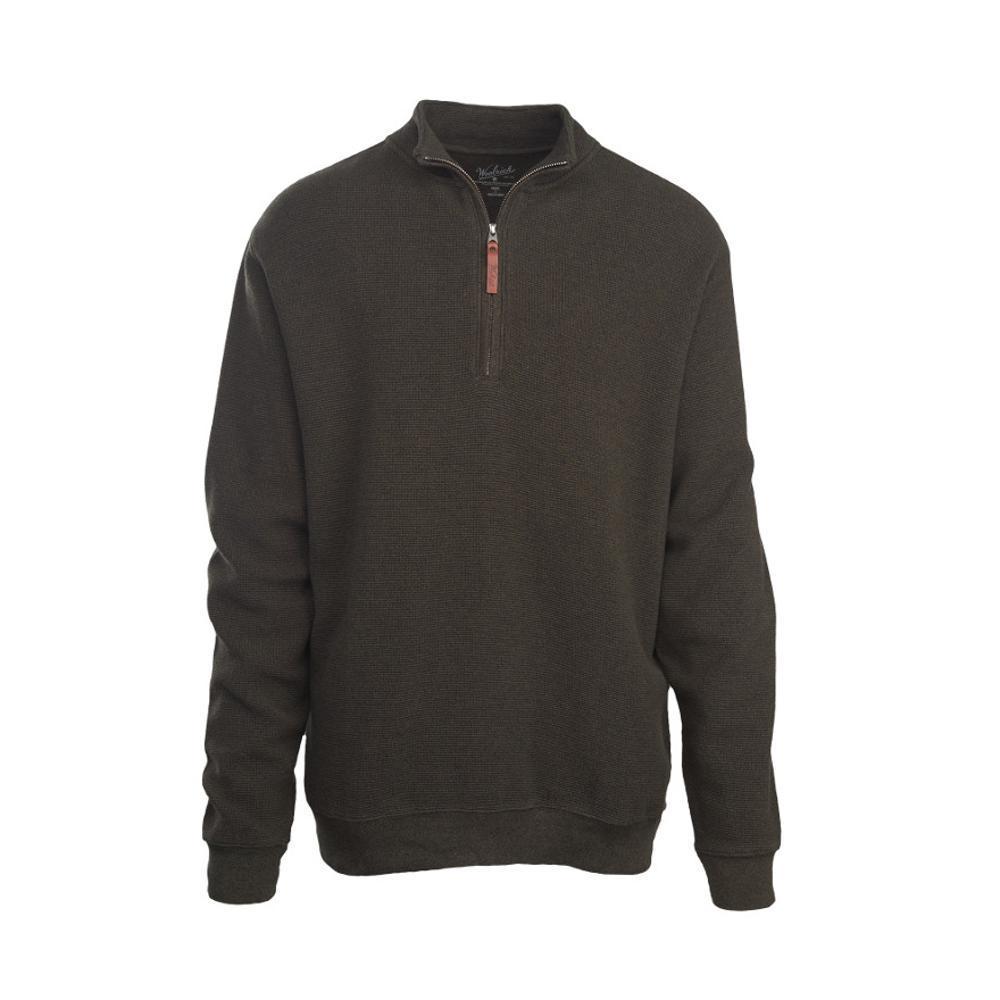 Woolrich Men's Bromley Half Zip Pullover DKLODEN