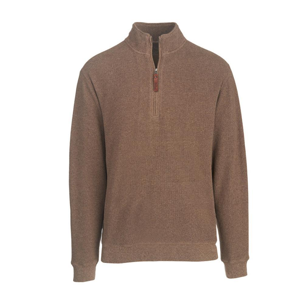 Woolrich Men's Bromley Half Zip Pullover WHEAT