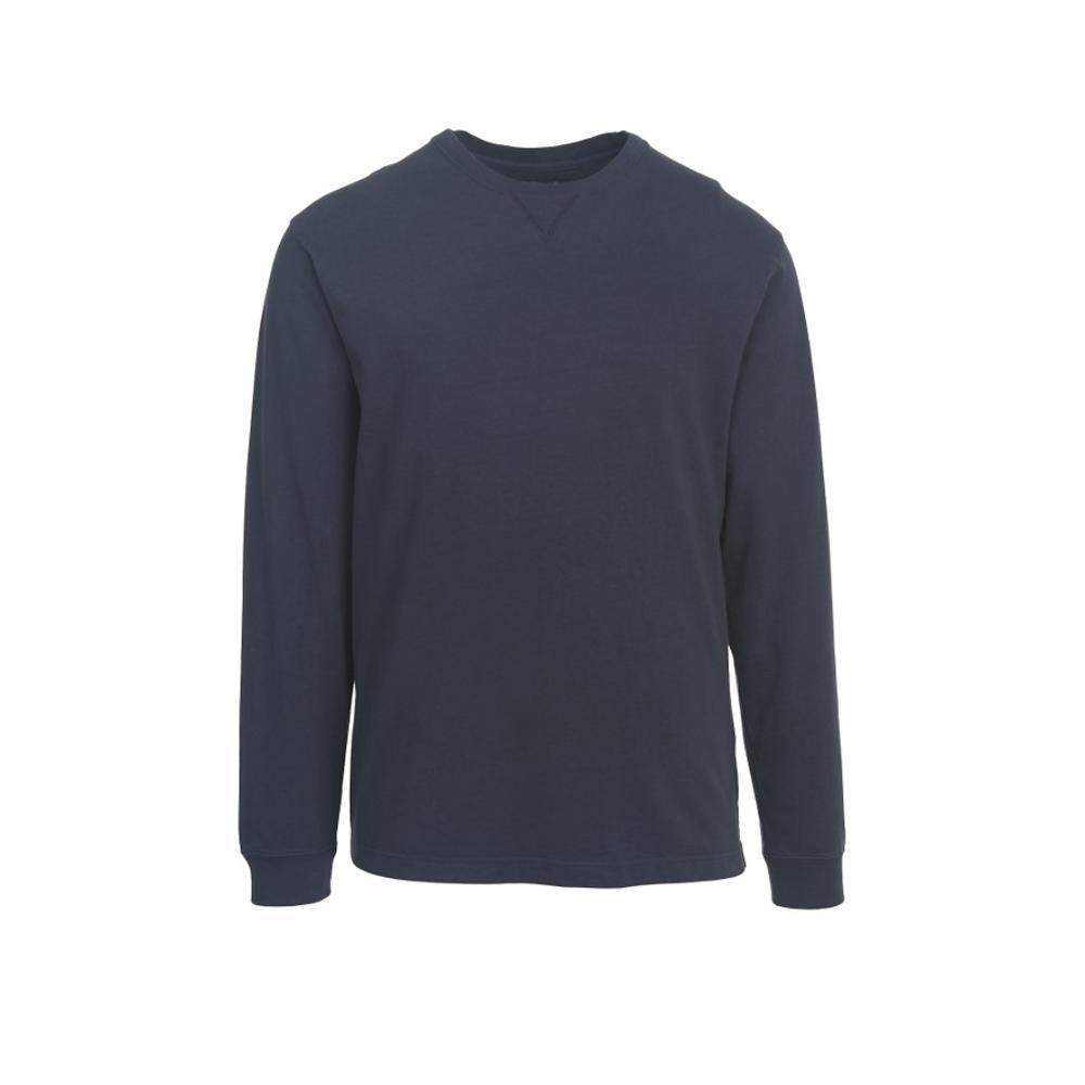 Woolrich Men's Men's First Forks Long Sleeve T-Shirt DPINDIGO