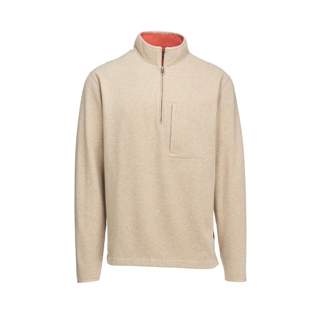 Woolrich Men's Boysen Half Zip Pullover Sweater Fleece II OATMEAL