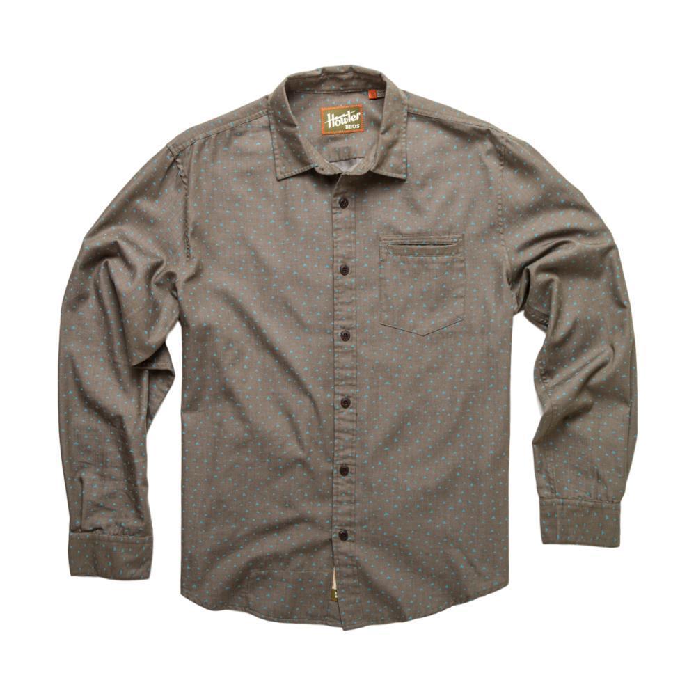 Howler Brothers Men's Enfield Longsleeve Shirt GRENBLUE