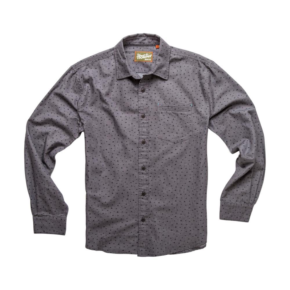 Howler Brothers Men's Enfield Longsleeve Shirt GREYBLK