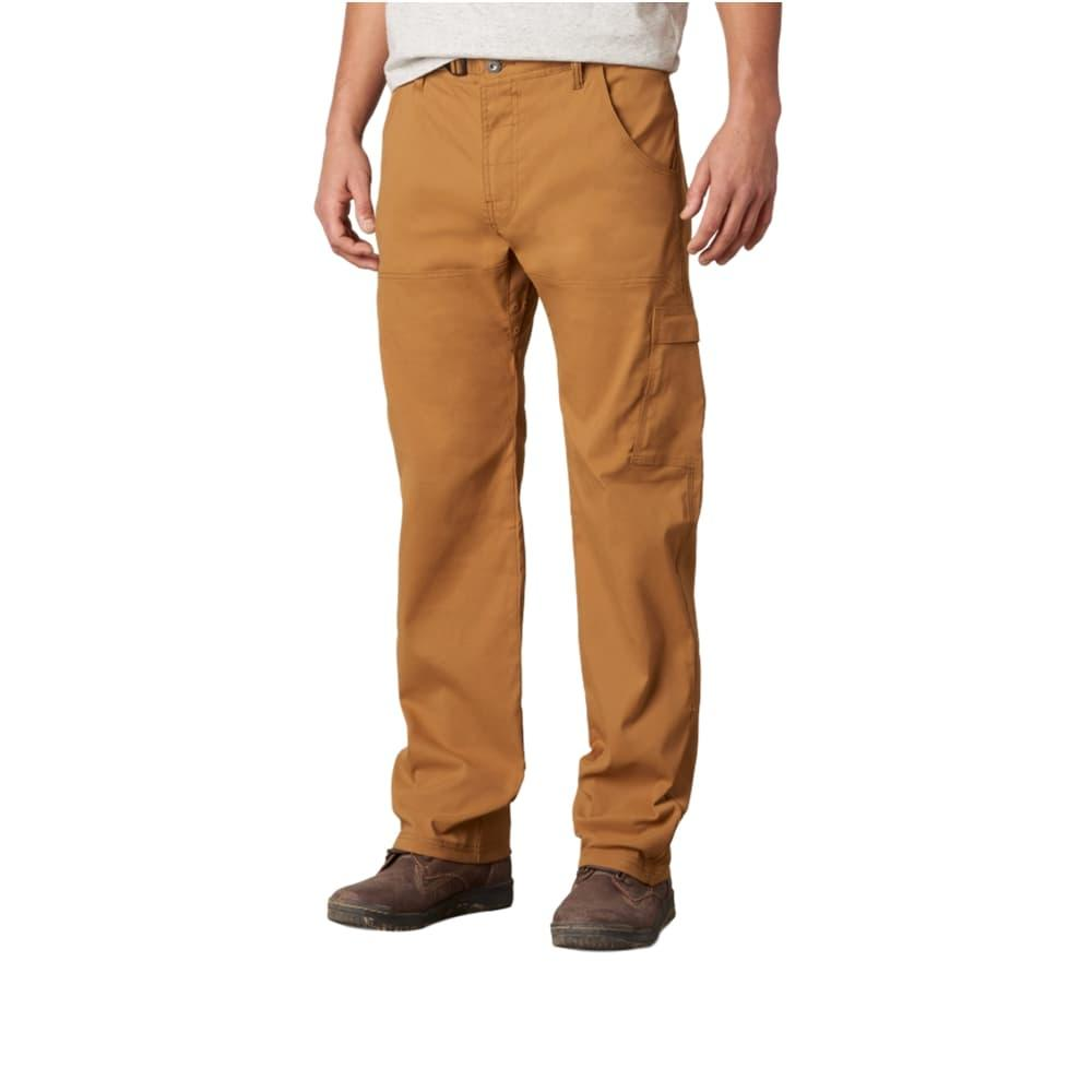prAna Men's Stretch Zion Pants - 32in DKGINGER