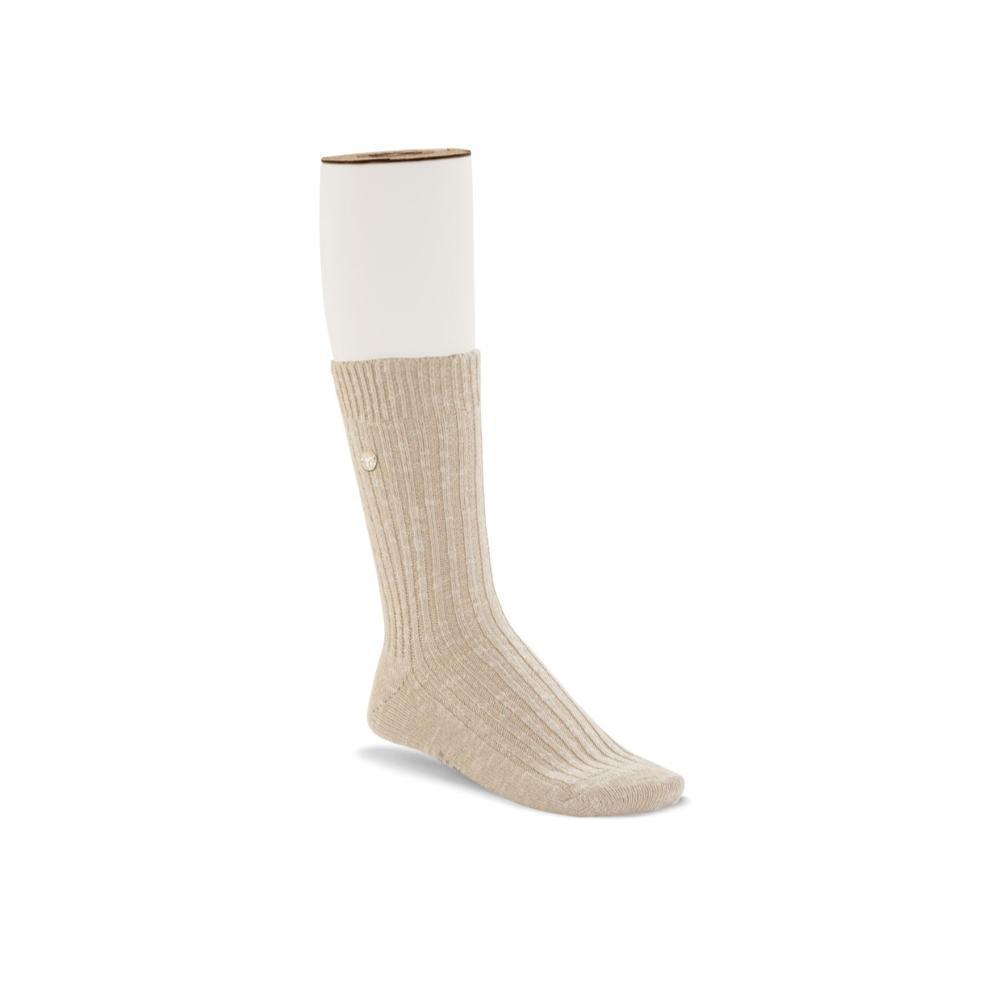 Birkenstock Women's Cotton Slub Socks BEIGEWHITE