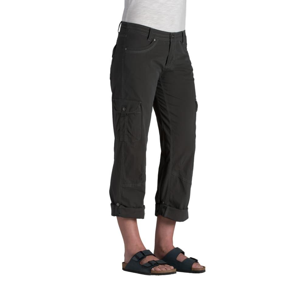 KUHL Women's Splash Roll Up Pants - 32in CARBON