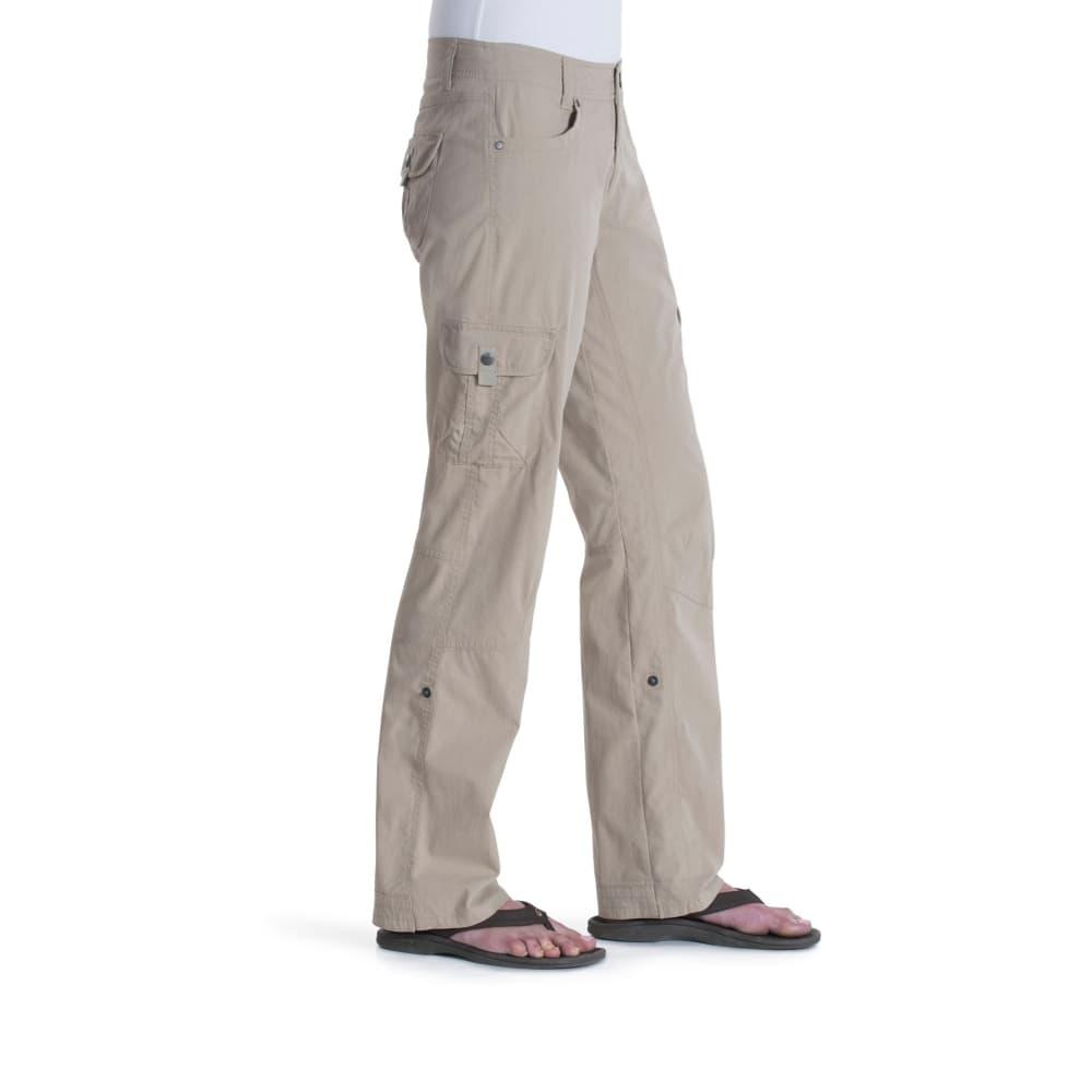 KUHL Women's Splash Roll Up Pants - 32in DESKHAKI