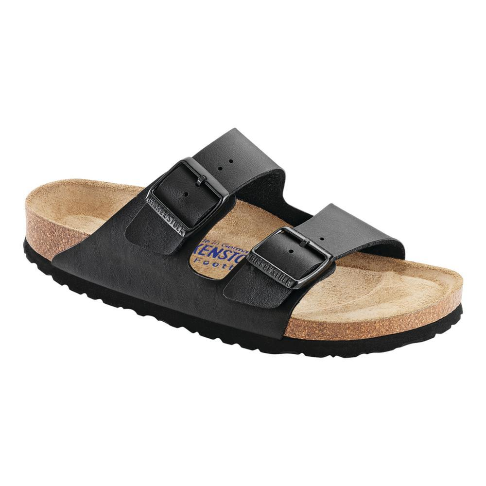Birkenstock Women's Arizona Soft footbed Sandals - Narrow BLACK