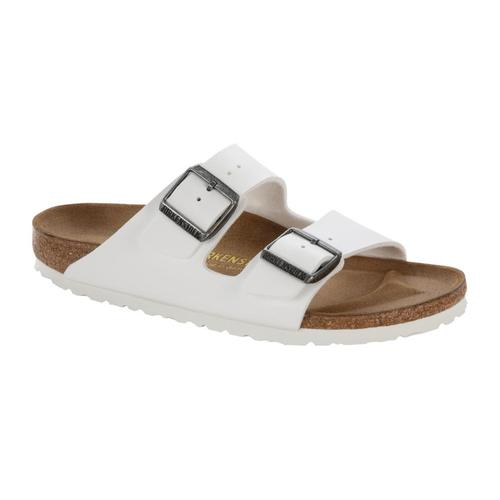 Birkenstock Women's Arizona Birko-Flor Sandals Whitebirko